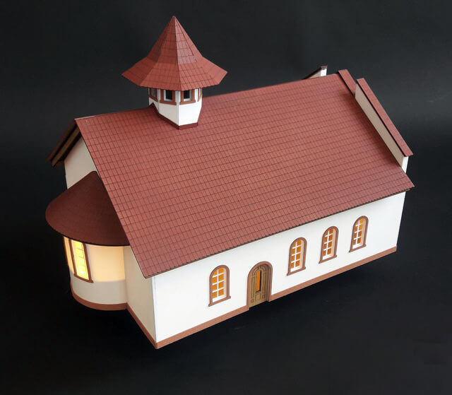 Biserica Ortodoxa macheta