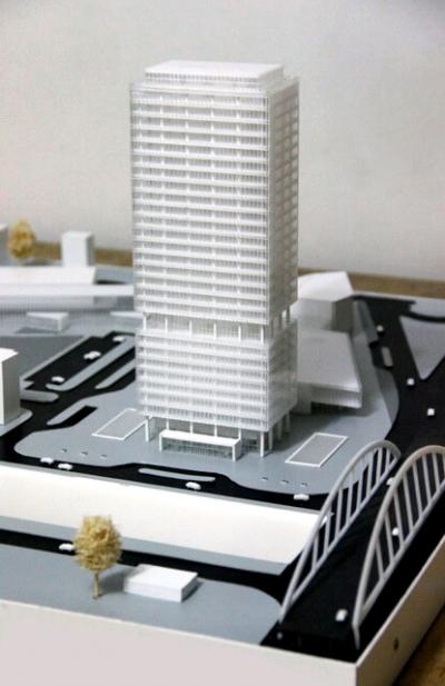 Machetă Proiect Clădire de Birouri