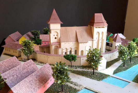 Macheta Cetati Biserici
