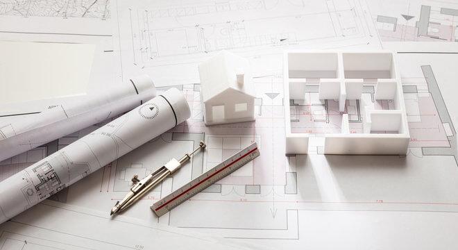 schita macheta arhitectura