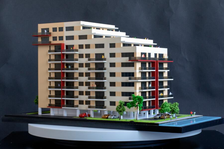 Macheta Central Residence Bloc